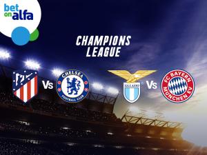 Δράση στο Champions League, με Build & Bet και Cash Out στην Bet on Alfa!