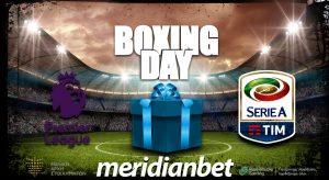 Meridianbet: Boxing Day και ελκυστικές αποδόσεις στην Meridianbet!