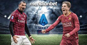 Meridianbet: Milan vs Roma!