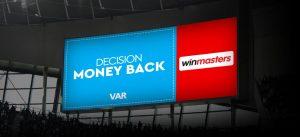 Στην Winmasters έχεις VAR (Very Attractive Return)!